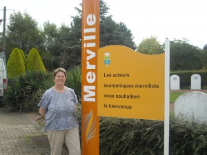 It was very exciting to visit the beautiful township of Merville in northern France