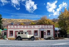 Over The Crown Range Was The Cardrona Hotel