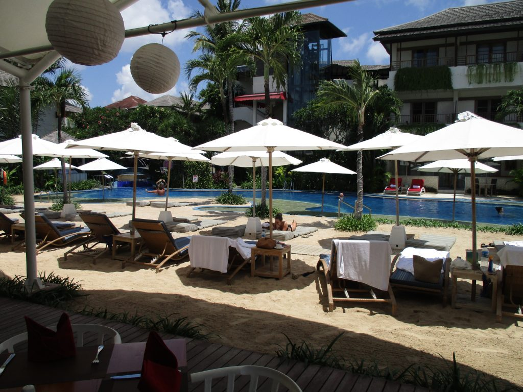 Second pool at Seminyak