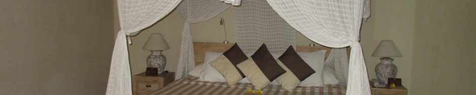 A Bed with Romantic Setting